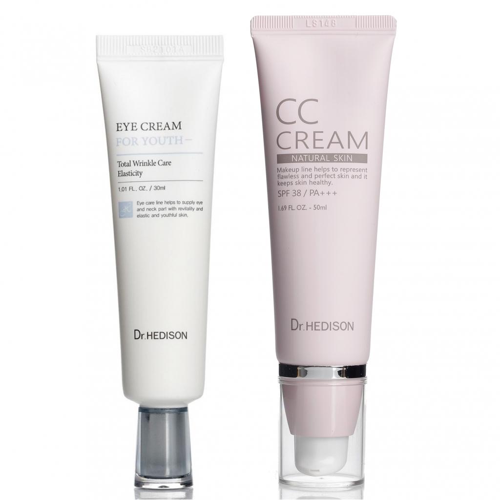 Профессиональный уход Skin-Care от Dr.Hedison для молодой кожи, 2 ед.