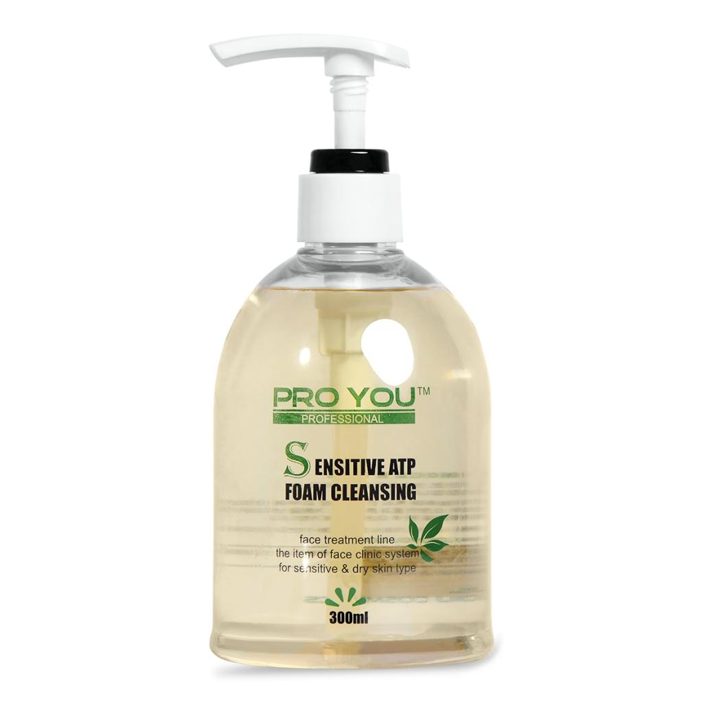 Гель-пінка для вмивання чутливої та проблемної шкіри Pro You Professional Sensitive ATP Foam Cleansing, 300 мл