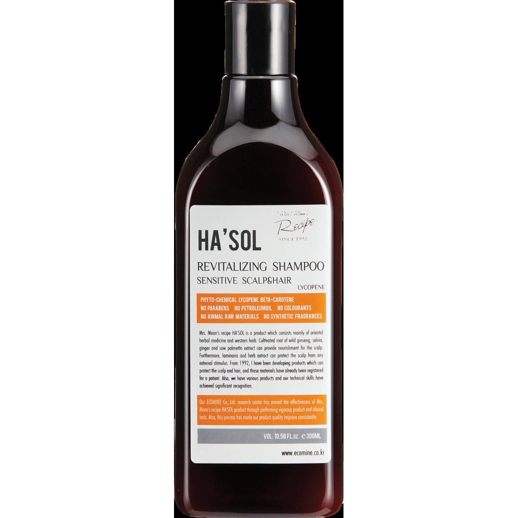 Шампунь для интенсивного восстановления волос  HASOL Revitaizing Shampoo, 300 мл