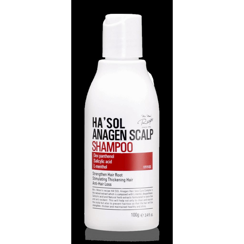 Шампунь для тонких и слабых волос против выпадения HASOL Anagen Shampoo, 100 мл