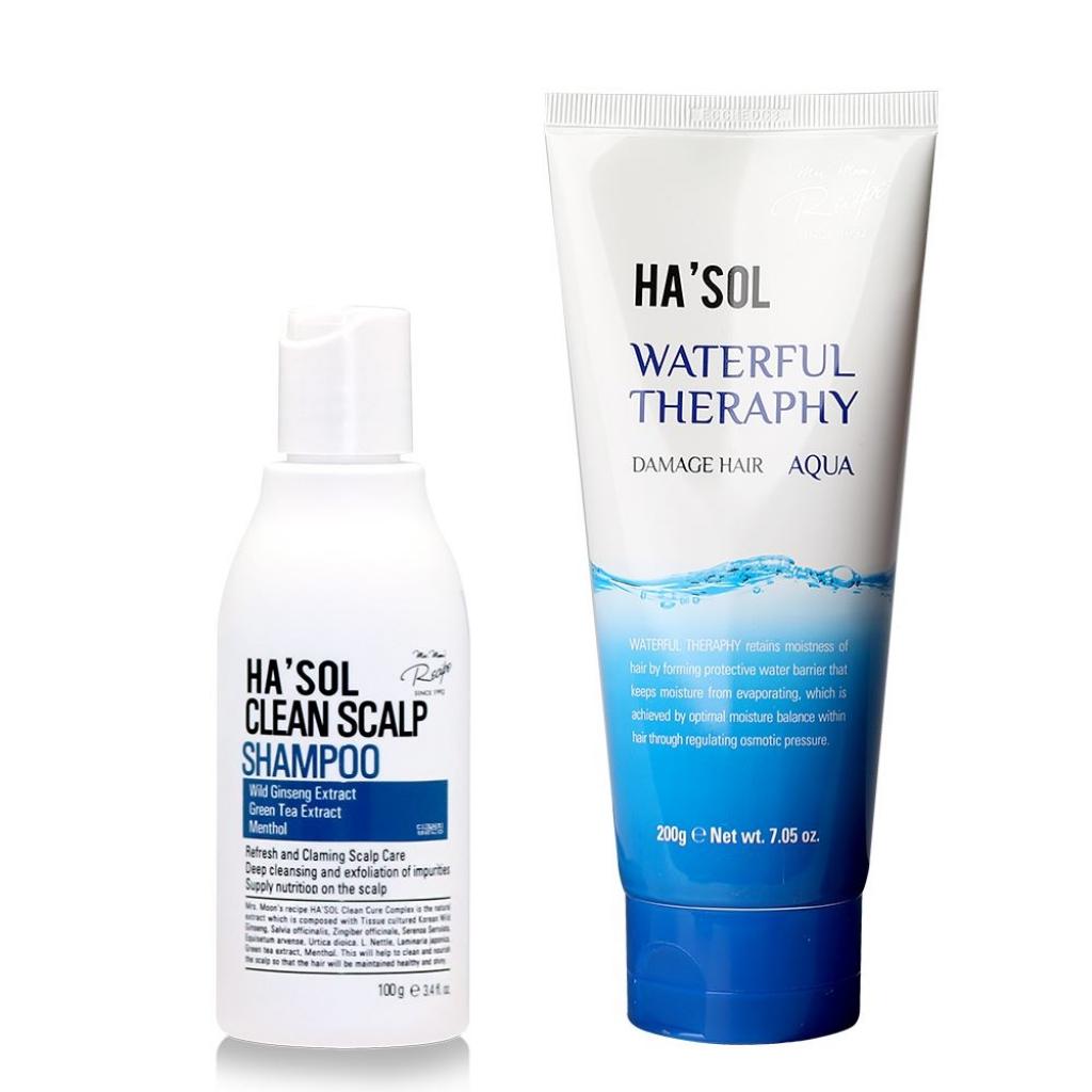 Набір для глибокого очищення шкіри і відновлення волосся