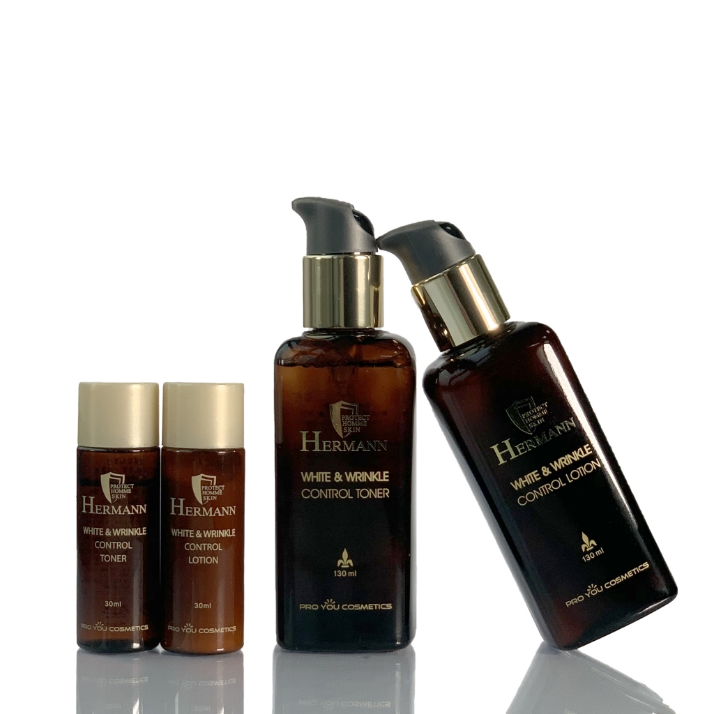 Набір для комплексного догляду за чоловічою шкірою обличчя Hermann від Pro You Professional