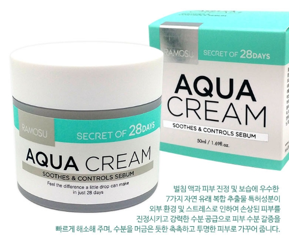 aqua-cream-ramosu-soothing {focus_keyword} Увлажняющий, себорегулирующий крем Ramosu Aqua Cream, 50 мл aqua cream ramosu soothing
