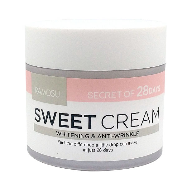 sweet-cream-ramosu-50 {focus_keyword} Отбеливающий крем для тусклой кожи Ramosu Original Sweet Cream, 50 мл sweet cream ramosu 501