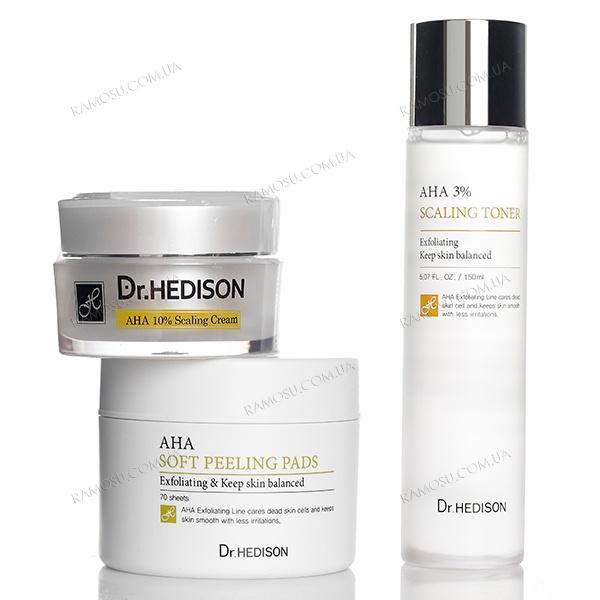 {focus_keyword} Ватные диски с AHA-кислотами Dr.Hedison AHA Soft Peeling Pads, 70 шт aha nabor drhedison