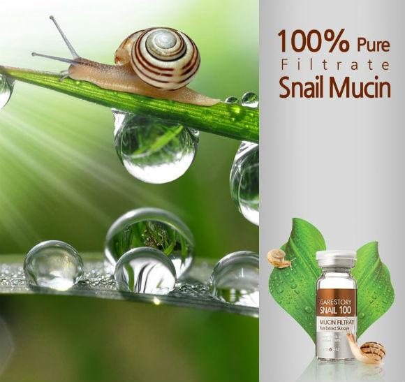 snail_mucin 100 фото {focus_keyword} Сыворотка с фильтратом слизи (муцины) улитки (Ramosu Snail Mucin Filtrate 100), 50 мл snail mucin 100