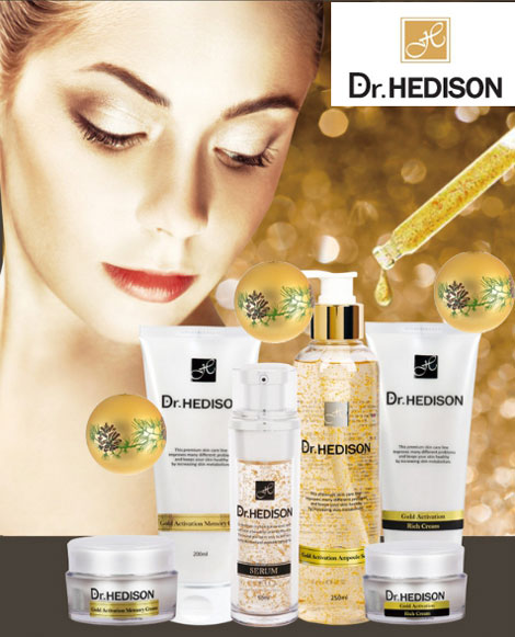 Dr.Hedison-gold-line-100 {focus_keyword} Крем с коллоидным золотом Dr.Hedison Gold Activation Rich Cream, 50 мл Dr